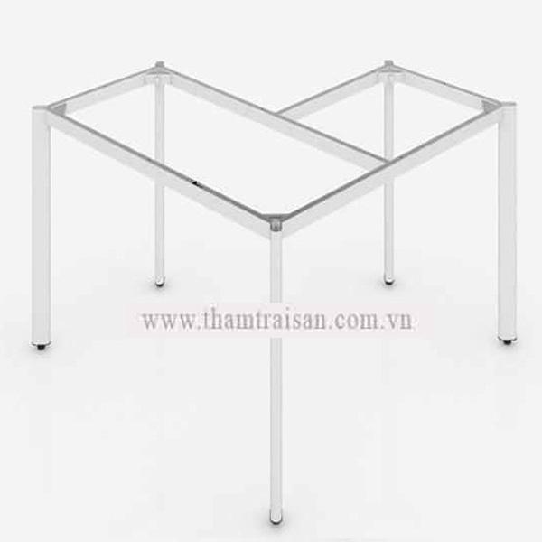 Khung sắt chữ L chân Oval 30x60