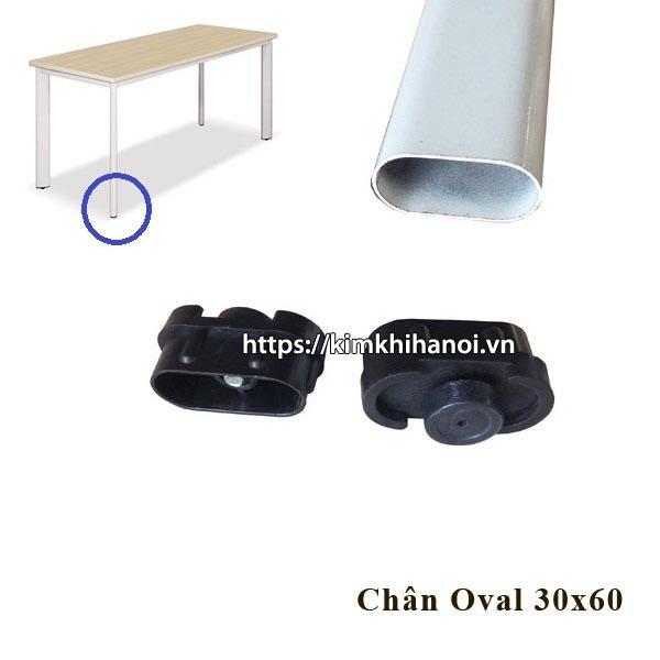Chân tăng chỉnh Oval 30x60